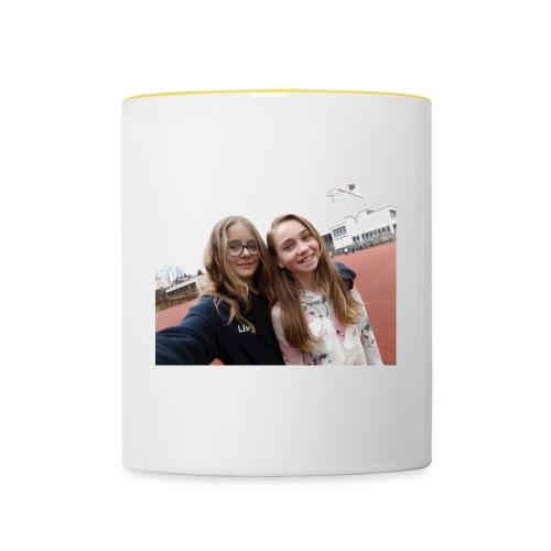 lisa und pia-sp - Tasse zweifarbig