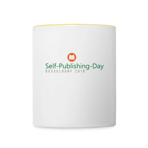 Self-Publishing-Day Düsseldorf 2018 - Tasse zweifarbig