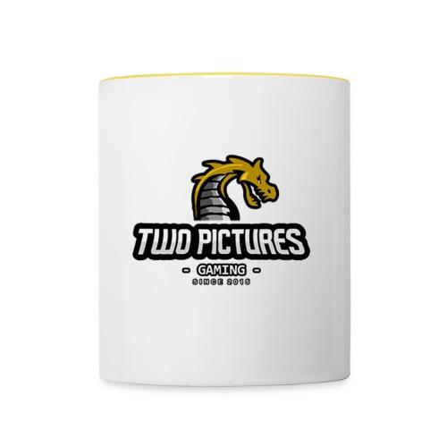 TwoPictures Gaming - Yellow Logo 2017 - Tasse zweifarbig