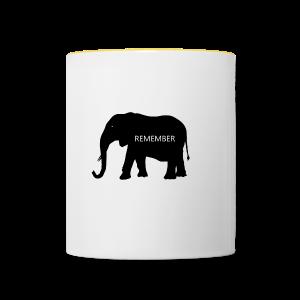 Elephant Collection - Tofarget kopp