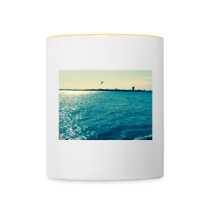 ocean life - Contrasting Mug