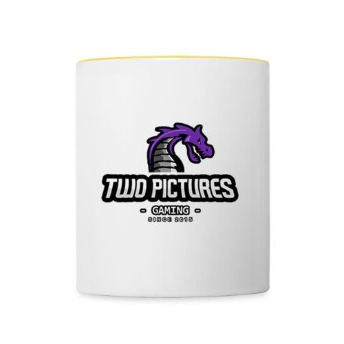 TwoPictures Gaming - Orange Logo 2017 - Tasse zweifarbig