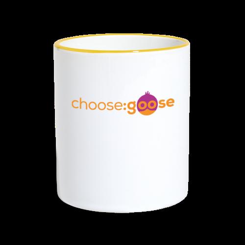 choosegoose #01 - Tasse zweifarbig