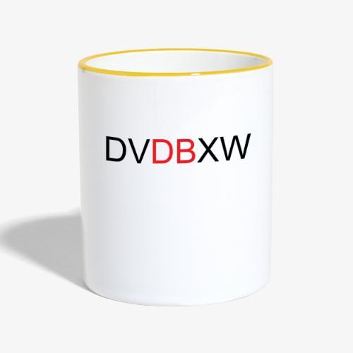 DVDBXW - Tazze bicolor