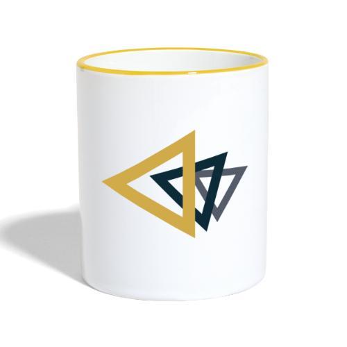 ▲ - Mug contrasté