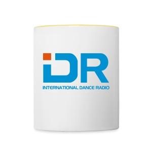 International Dance Radio - Taza en dos colores