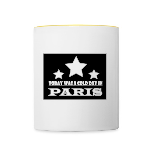 ColdParis - Mug contrasté