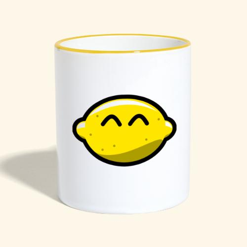 lemon - Tasse zweifarbig
