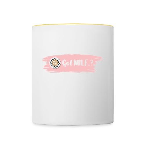 Got MILF Milfcafe Shirt Mama Muttertag - Tasse zweifarbig