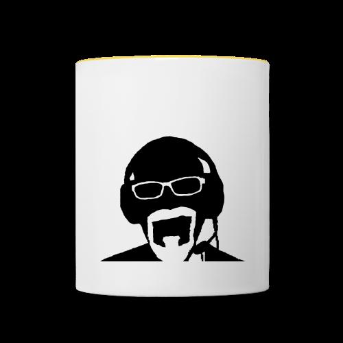 Face Gaming Black - Mug contrasté