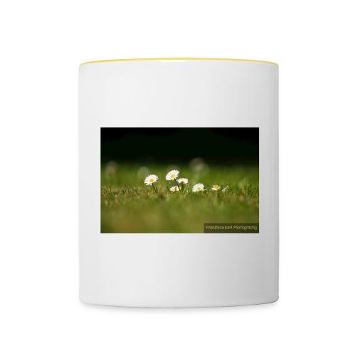 Daisies - Contrasting Mug