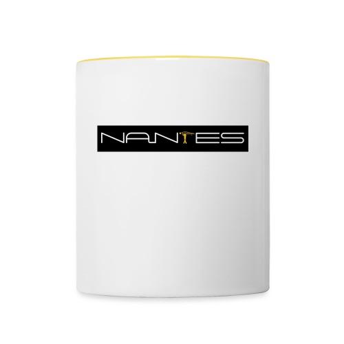 NanTes - Mug contrasté