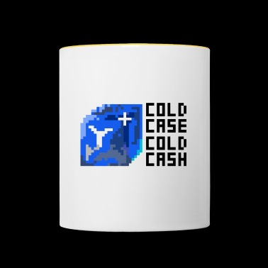 kalde kontanter - Tofarget kopp