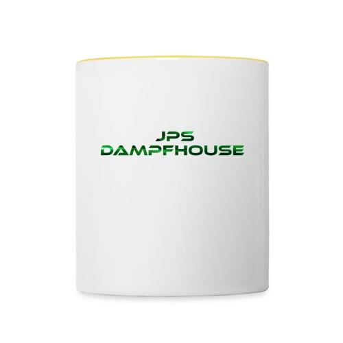JPs DampfHouse Logo - Tasse zweifarbig