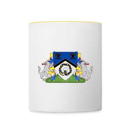Hrafnarfjall Coat of Arms - Contrasting Mug