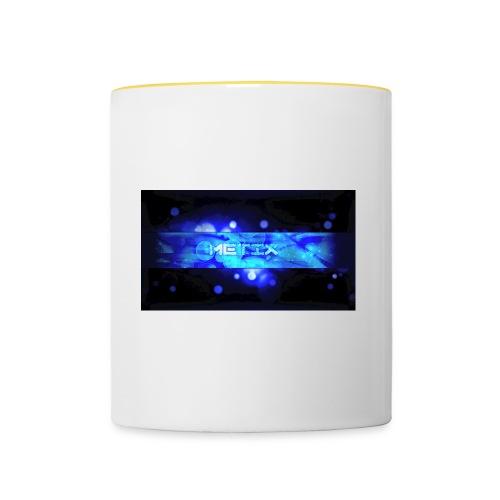 MeTix - Tasse zweifarbig