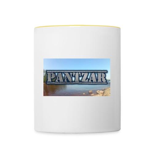 Pantzar - Tvåfärgad mugg