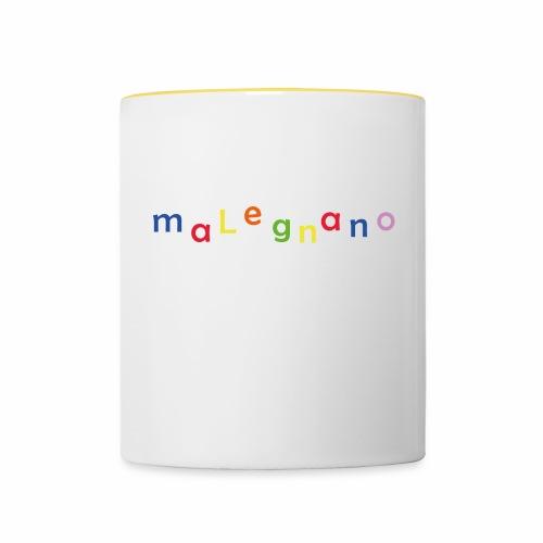 malegnano - Tasse zweifarbig