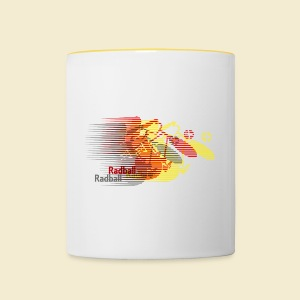 Radball | Earthquake Germany - Tasse zweifarbig
