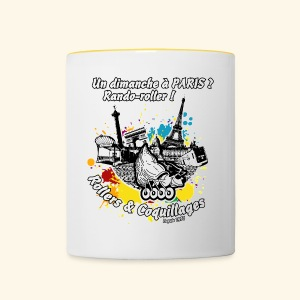 Splash - Tasse bicolore