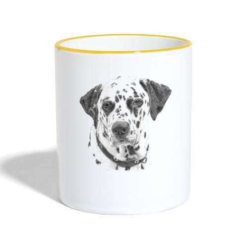 dalmatian - Tofarvet krus