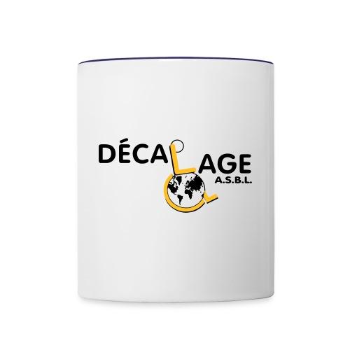Logo vectoriel large - Mug contrasté