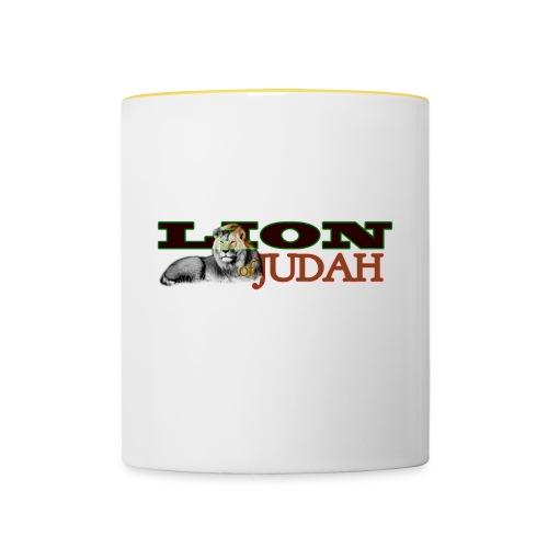 Tribal Judah Gears - Contrasting Mug