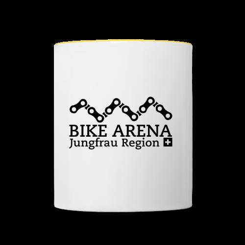 Bike Arena Black Rider - Tasse zweifarbig