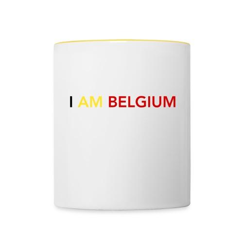 I AM BELGIUM - Mug contrasté