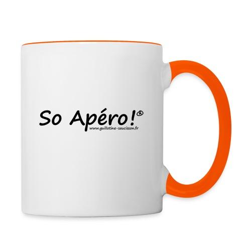 So Apéro Sit grand gif - Mug contrasté