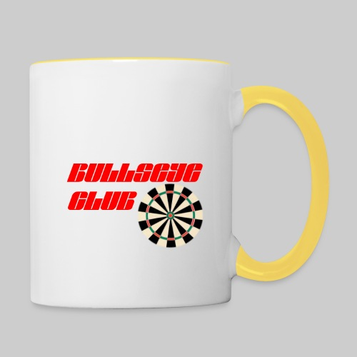 Bullseye club - Contrasting Mug
