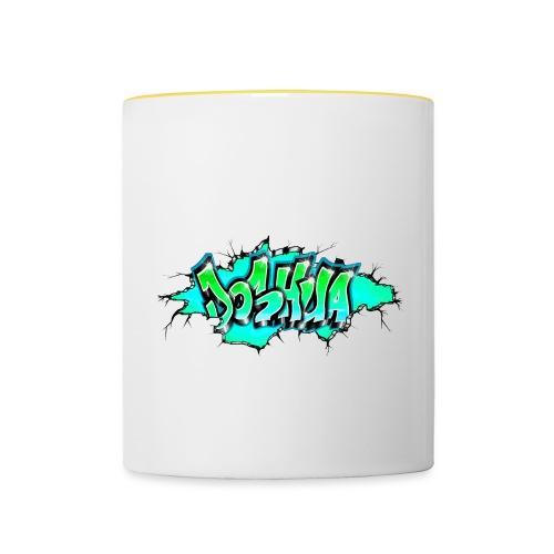 GRAFFITI JOSHUA PRINTABLE WALL BROKE - Mug contrasté