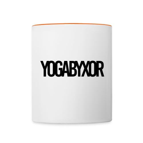 yogabyxor1 - Tvåfärgad mugg