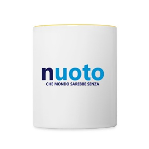 NUOTO - CHE MONDO SAREBBE - Tazze bicolor