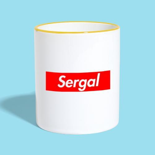 SERGAL Supmeme - Tasse zweifarbig