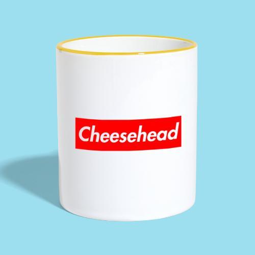CHEESEHEAD Supmeme - Tasse zweifarbig