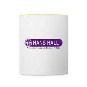 HANS HALL GmbH Logo - Tasse zweifarbig
