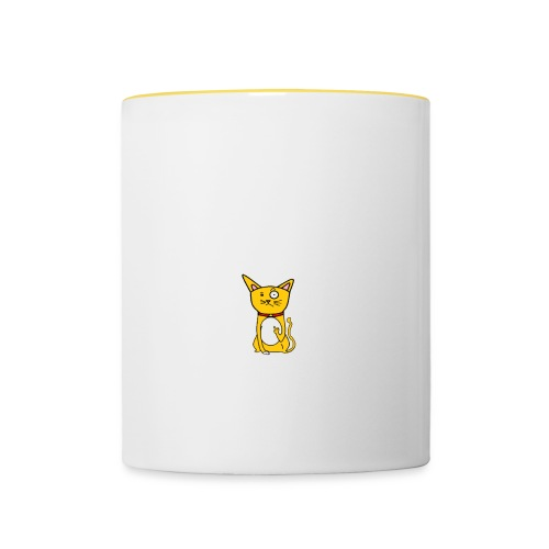 CAT 4 png - Contrasting Mug
