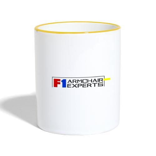 F1 Armchair Experts Logo BK - Contrasting Mug