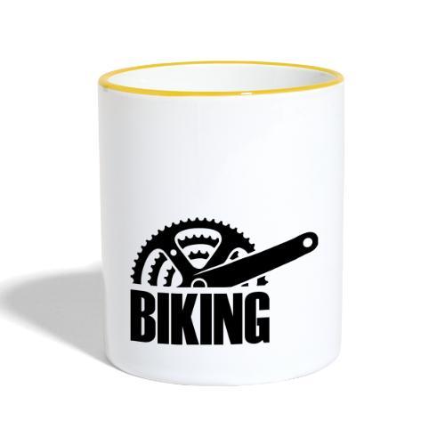 Biking - Tasse zweifarbig