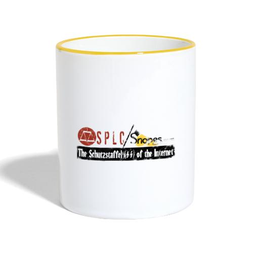 SPLC and SNOPES Schutzstaffel OF THE INTERNET - Contrasting Mug