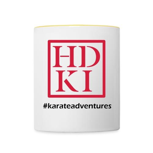HDKI karateadventures - Contrasting Mug