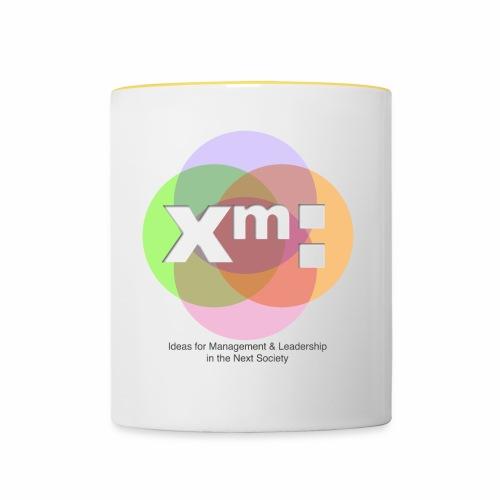 xm-institute Logo Edition - Tasse zweifarbig