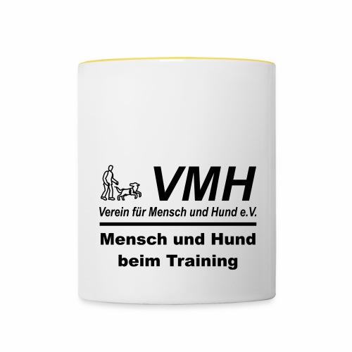 VMH Mensch Hund Training - Tasse zweifarbig