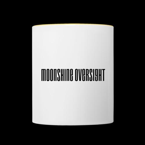 Moonshine Oversight logo - Mug contrasté