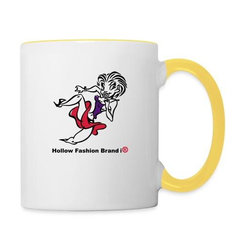 no name - Contrasting Mug