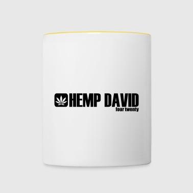 Chanvre - Chanvre David - Quatre Vingt - 420 - Tasse bicolore