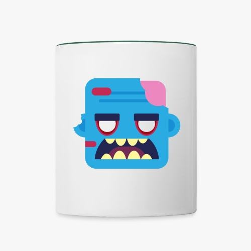 Mini Monsters - Zombob - Tofarvet krus