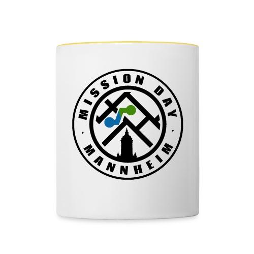 Mission Day Mannheim b/g revers - Tasse zweifarbig