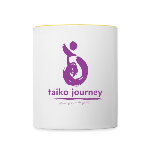 Taiko Journey PURPLE RHYTHM - Contrasting Mug